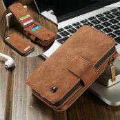 Caseme Plånboksfodral till iPhone 5/5S/SE - Brun