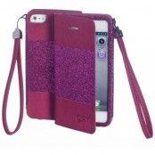 Celly Glamme Agenda (iPhone 5/5S) - Rosa