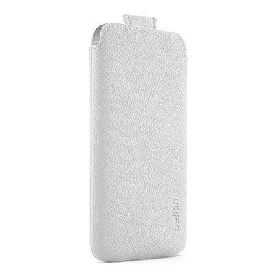 BELKIN Pocket Case till Apple iPhone 5/5S/SE (Vit)