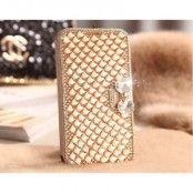 Bling Bling Plånboksfodral till Apple iPhone 5/5S/SE - Rosa