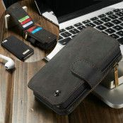 Caseme Plånboksfodral till iPhone 5/5S/SE - Svart