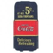 Coca-Cola 5cent flipfodral till Apple iPhone 5/5S/SE