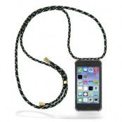 CoveredGear Necklace Case iPhone 5 - Green Camo Cord