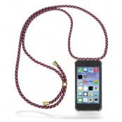 CoveredGear Necklace Case iPhone 5 - Red Camo Cord