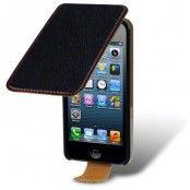 Flip mobilväska till iPhone 5S/5 (Svart)