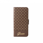 Guess Gianina mobilfodral till iPhone 5/5S - Cognac