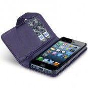 Plånboksfodral till iPhone 5S/5 (Lila)