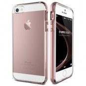 Verus Crystal Bumper Skal till Apple iPhone 5/5S/SE - Rose Gold
