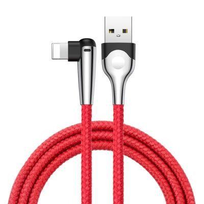 Baseus MVP Mobile Game Lightning kabel 2.4A 1 m Röd