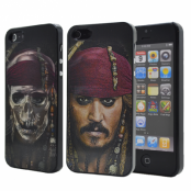 3D Baksideskal till Apple iPhone 5/5S/SE (Bandana Skull)