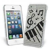 Bling Piano Skal till Apple iPhone 5/5S/SE + Skärmskydd