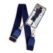 BOOM OF SWEDEN - Halsband mobilskal till iPhone 5/5S/SE  - Belt Blue