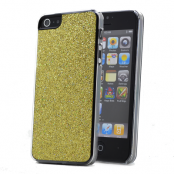 Glitter skal till Apple iPhone 5/5S/SE (Gul)