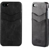 iDeal Dual Card Case - Skal till Apple iPhone 5/5S/SE- Svart