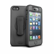 iSkin Revo 360 till iPhone 5S/5 (Svart) + Titan Skärmskydd