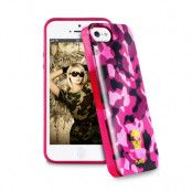Puro Army Fluo skal till Apple iPhone 5/5S/SE Skull case - (Magenta)