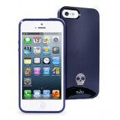 Puro Apple iPhone 5/5S/SE Skull case - Blå