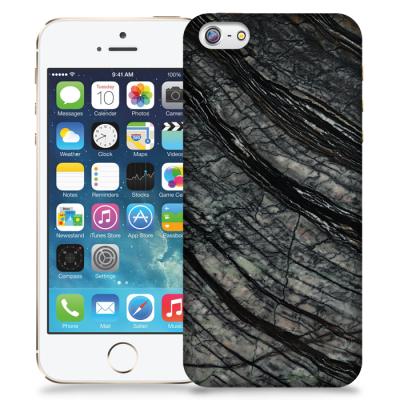 Skal till Apple iPhone 5/5S/SE - Marble - Svart/Grå