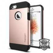 SPIGEN Tough Armor Skal till Apple iPhone 5/5S/SE - Rose Gold