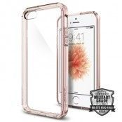 SPIGEN Ultra Hybrid Skal till Apple iPhone 5/5S/SE - Rose Crystal