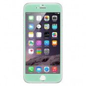 Curved Edge Colored Tempered Glass Skärmskkyd till Apple iPhone 6 Plus - Turkos