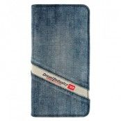 Diesel Booklet Case till iPhone 6 Plus - Denim