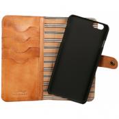 Nic & Mel - Andrew Bookcase (iPhone 7/6(S) Plus) - Brun