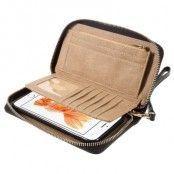 Plånboksfodral i äkta läder med magnetiskt skal till iPhone 6(S) Plus