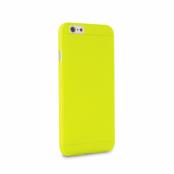 Puro Cover Apple iPhone 6(S) Plus Ultra-Slim 0.3 (Gul) + Skärmskydd