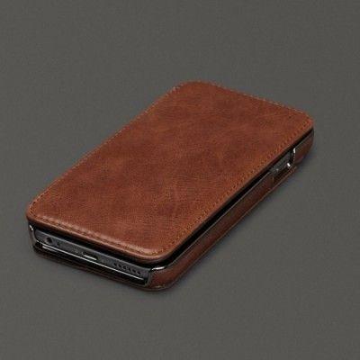 Sena äkta läder plånboksfodral till Apple iPhone 6 Plus - Brun