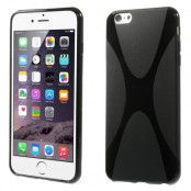 X-Line Flexicase Skal till Apple iPhone 6(S) Plus - Svart