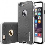 Caseology Bumper Frame Skal till Apple iPhone 6 / 6S  - Mesh Silver