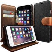 Caseology Plånboksfodral till Apple iPhone 6 - Svart/Brun