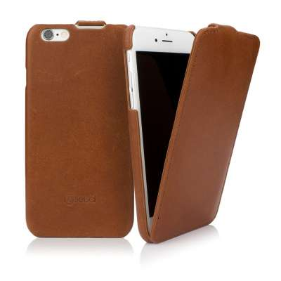 CASEual LeatherFlip för iPhone 6/6s - Italian Brown