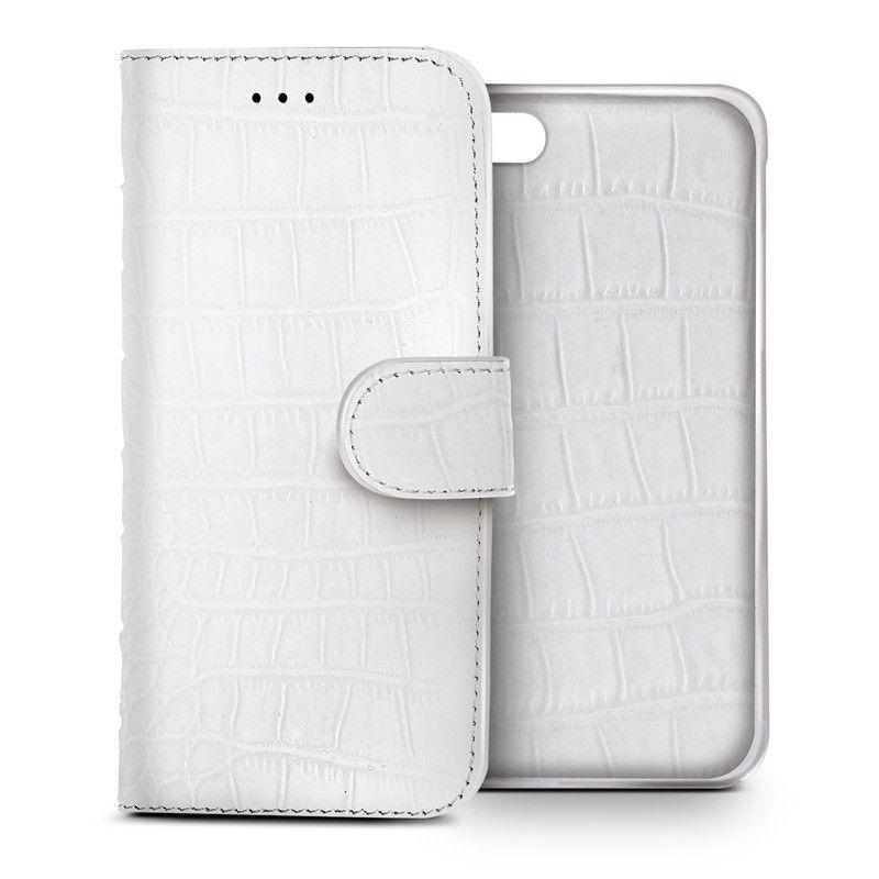 Celly Luxury Plånboksfodral till iPhone 6 Vit