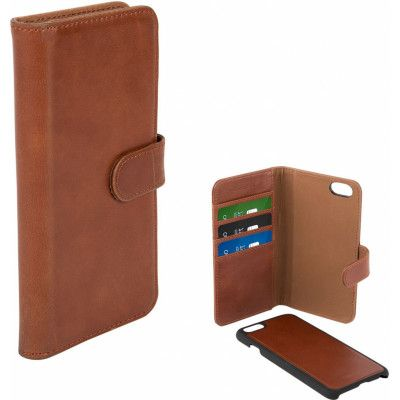 Champion Leather Wallet (iPhone 6/6S) - Mörkbrun