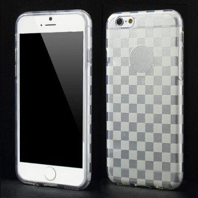 Check Design FlexiCase skal till Apple iPhone 6 / 6S  (Transparent)