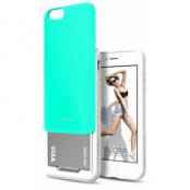 DesignSkin Slider Case (iPhone 6/6S) - Grön