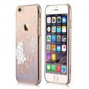 Devia Skal med Swarovski-stenar till iPhone 6 / 6S - Lila