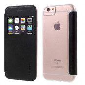G-Case Mobilfodral med fönster till iPhone 7 Plus, iPhone 6(S) Plus - Svart