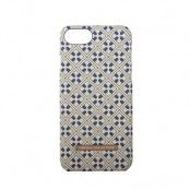Onsala Collection mobilskal till iPhone 6/6S/7/8 - Blue Marocco