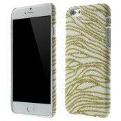 Glittery Baksideskal till Apple iPhone 6 / 6S  - Guld