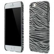 Glittery Baksideskal till Apple iPhone 6 / 6S  - Svart