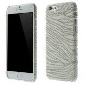 Glittery Baksideskal till Apple iPhone 6 / 6S  - Vit