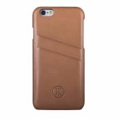JT Berlin Mobilskal av äkta läder till iPhone 6/6S - Brun