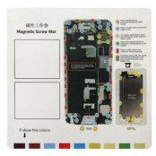 Magnetisk skruvmatta till iPhone 6