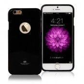 Mercury Flexicase Skal till Apple iPhone 6 - Svart