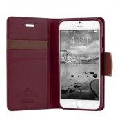 Mercury Sonata Diary Plånboksfodral till Apple iPhone 6 / 6S (Wine)