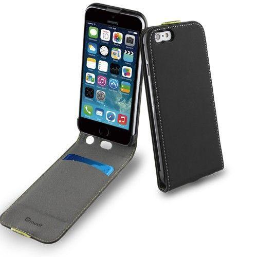 Muvit Slim Flip Case IPhone 6 6S Svart