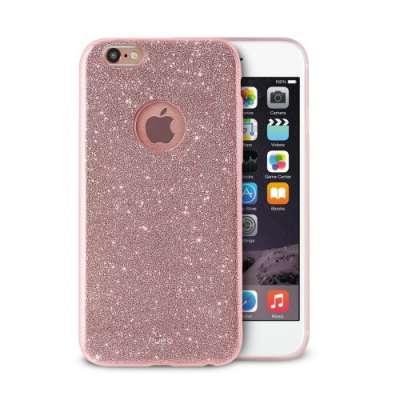 Puro Glitter Mobilskal till iPhone 6/6S - Shine Rose Gold